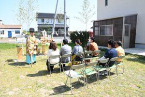三重県 御浜町にて地鎮祭