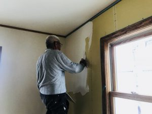内装漆喰施工!