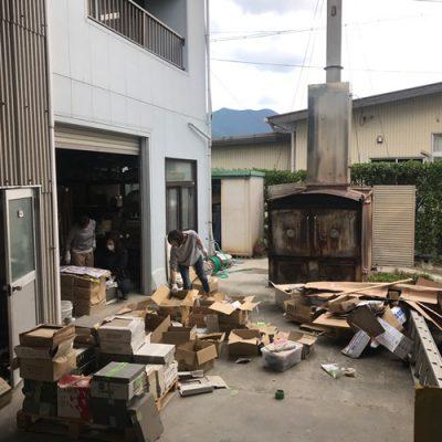 プロホーム・大台 倉庫大掃除