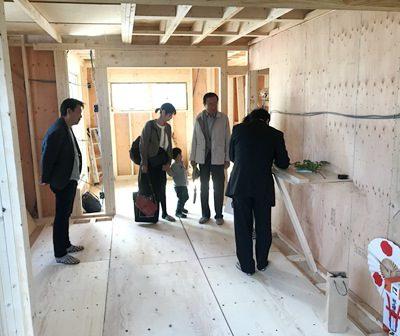 三重県松阪市にて新築住宅 上棟式!