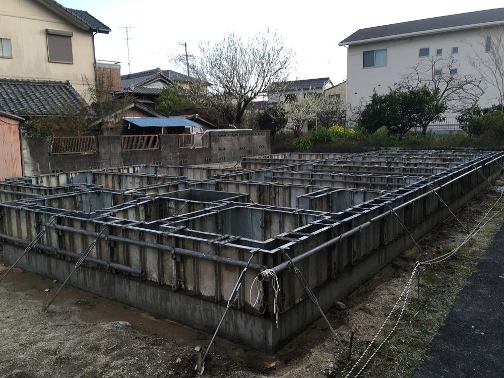 三重県鈴鹿市 基礎工事