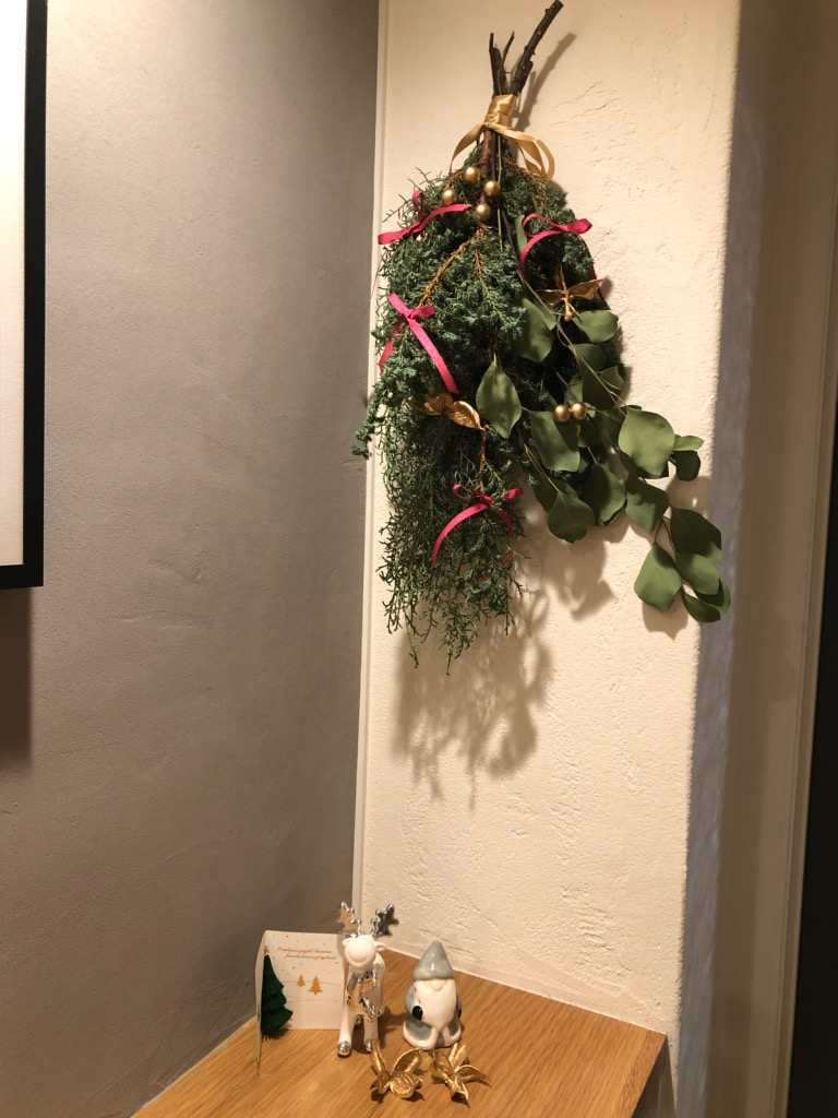 クリスマス スワッグ♪