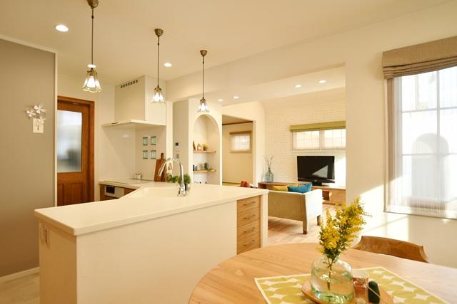 こだわりA型キッチンのあるお家完成見学会