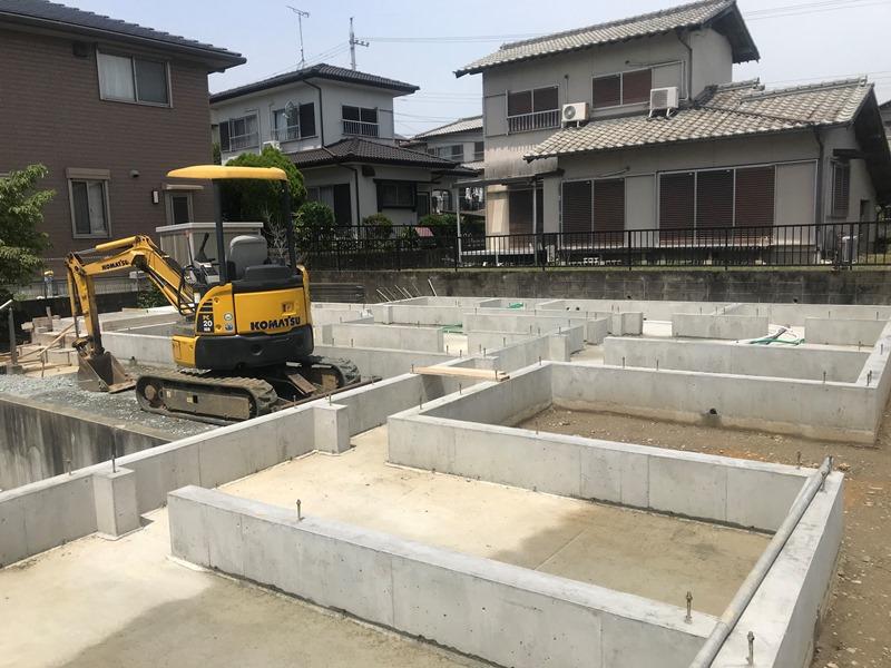 松阪市にて新築工事中のお家!