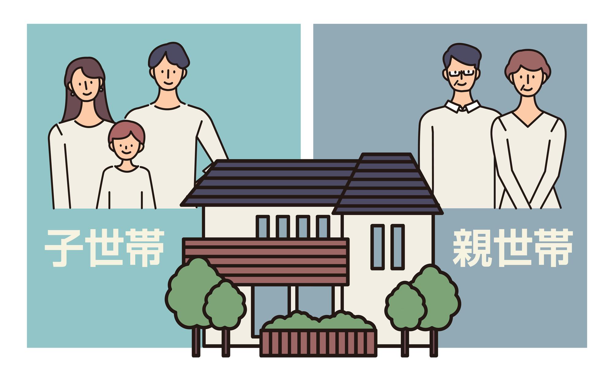 二世帯住宅を建てたい!間取り作成のポイントを紹介
