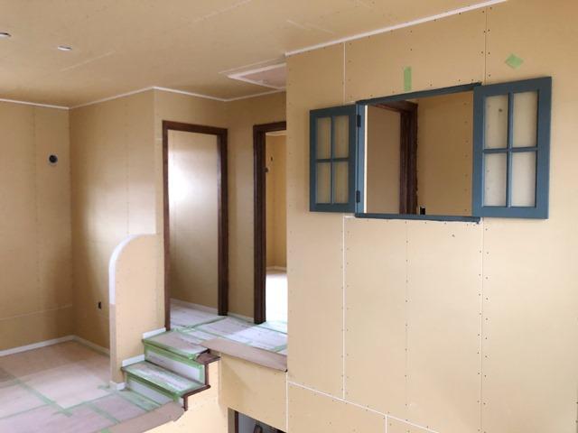 三重県伊勢市新築工事 大工工事完了しました
