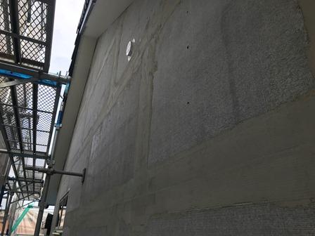 三重県松阪市にて新築工事中のお家